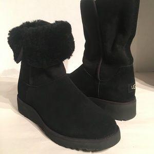 Ugg Women's Kara Tall Wedge Boots